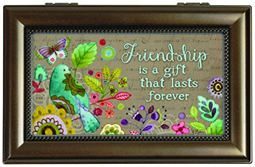 Willow Creek Cottage - Carson Home Accents Music Box, Friendship