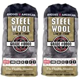 Homax Products #0000 Super Fine Finish Steel Wool Pad 12 Per Package TV713206 (2 Pack)