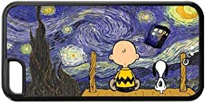 IPhone 5c Cartoon Peanuts Snoopy The Starry Night Doctor Who Tardis Phone Personality Hard Case Cover at NewOne by mcsharks