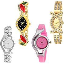 Swadesi stuff Stylish And Attractive Designer Watches Combo