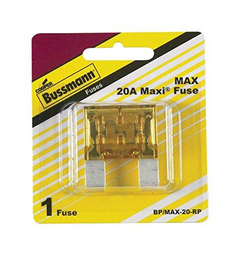 Bussmann BP/MAX-20 20 Amp Maxi Blade Fuse