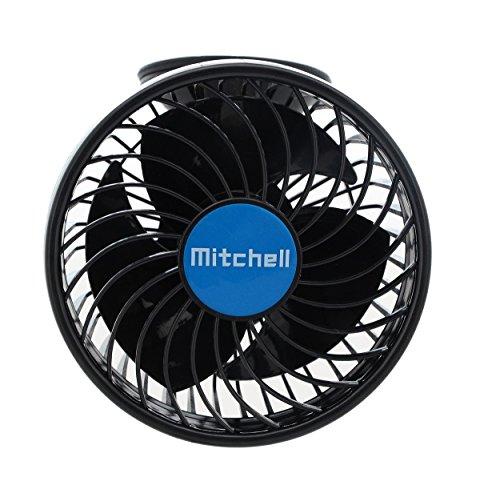 51iWqH 5FnL Compass Mitchell Ventilator, Autoventilator mit Saugnapf, Gebläse Klimaanlage Fan/Fans, klein/Mini Ventilatoren, KFZ…