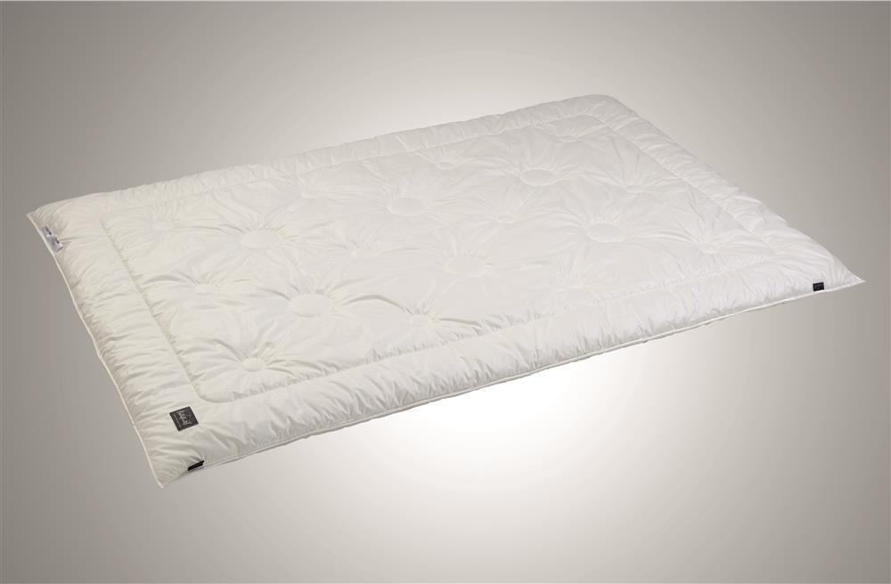 Schlafkult Bettdecke Duo Climacozy 135 x 200 cm Makobaumwolle Outlast® Faser