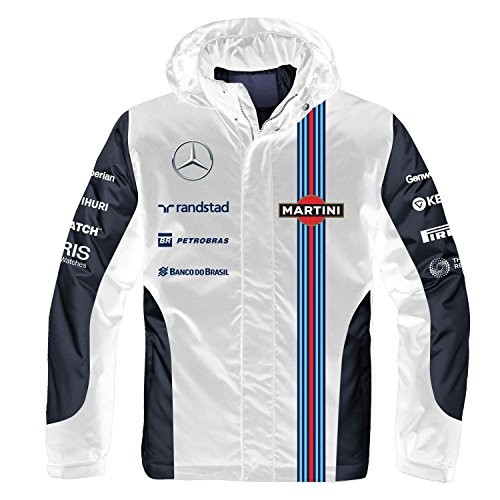 (The Williams Martini Team 2-In-1 Jacket, Small)