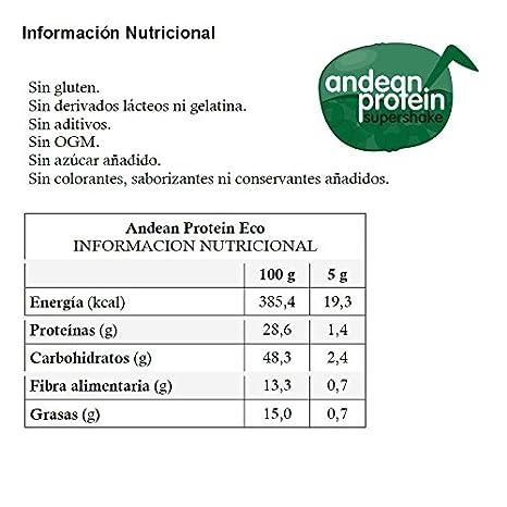 Energy Feelings Andean Protein Ecológico - 3 Paquetes de 150 ...