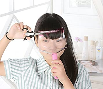 how to cut bangs at home