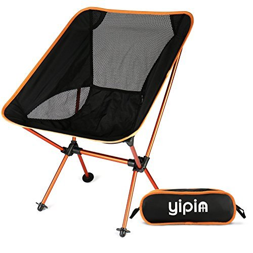 YIPIN new version outdoor chair folding chair load-bearing 120kg lightweight 870g light and durable ultra-light chair your fishing cherry-blossom viewing climbing camp (Climbing Blossom)