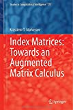 Index Matrices: Towards an Augmented Matrix Calculus, Atanassov, Krassimir T., 3319109448