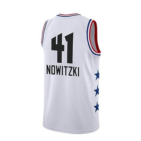 2019 Temporada All Star Nowitzki Cartas Gou Owen Jersey Equipo ...
