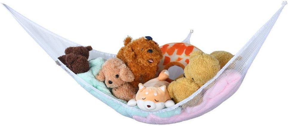 Mictiona 1PC Baby Toy Luxury Pet Storage Corner Stuffed Animals Hammock Poly Toy Gift