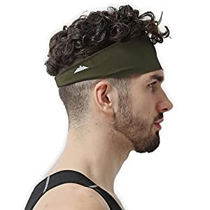 amazon com mens headband guys sweatband sports headband for