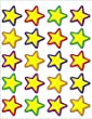 Teacher Created Resources Yellow Stars Stickers (5161)