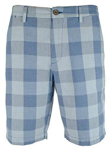 (Tommy Bahama Men's Diego Plaid 10-Inch Shorts-OD-33)