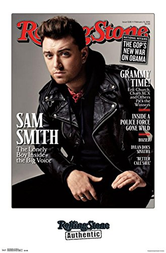 Sam Smith - 2015 Rolling Stone Cover Poster