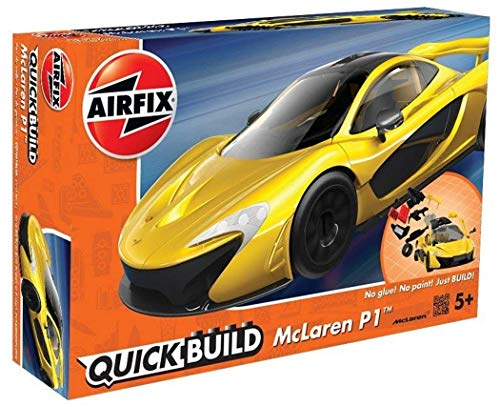 Airfix Quickbuild McLaren P1 Snap Together Plastic Model Kit