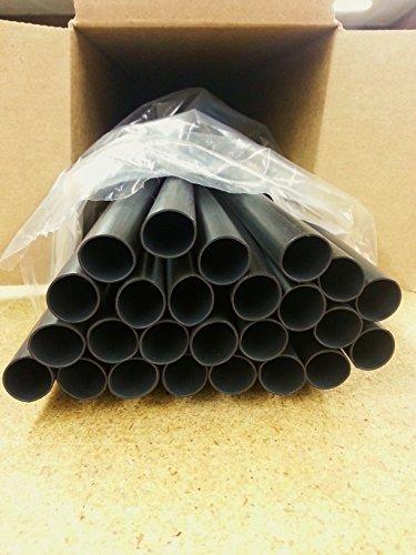 100 Feet Medium / Heavy Dual-Wall Adhesive Heat Shrink 3/4'' BLACK 3:1 Ratio 4ft. x 25 pc. by Lawrence Marine Products
