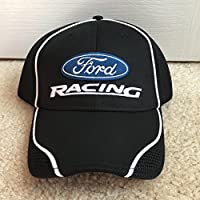 Nascar Team Issued Ford Racing Winner's Circle Victory Lane Hat Cap Mesh Penske Petty Stewart Haas Mustang Bronco GT
