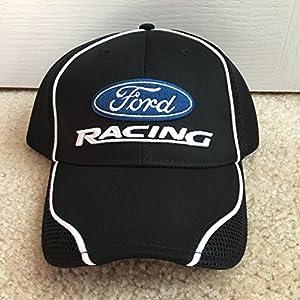 Nascar Team Issued Ford Racing Winner's Circle Victory Lane Hat Cap Mesh Penske Petty Stewart Haas Mustang Bronco GT