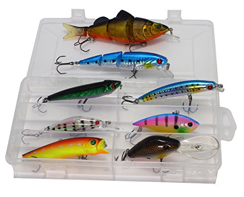 LotFancy Including Multi Jointed Swimbaits Crankbaits