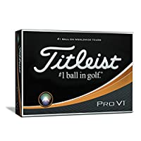 Titleist Pro V1 Golf Balls, White (One Dozen)