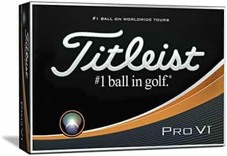Titleist Pro V1 Golf Balls, White (One Dozen)