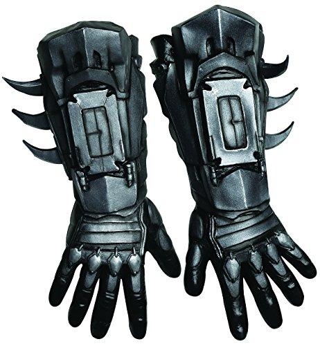 Batman Adult Gloves (Deluxe Batman Gloves Costume Accessory)