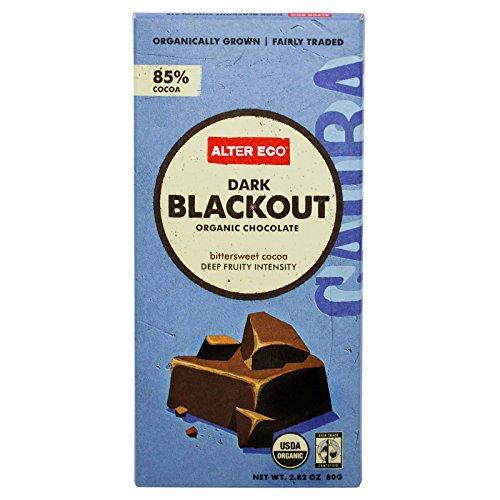 Alter Eco, Organic Chocolate, Dark Blackout, 2.82 oz (80 g) - 2pc