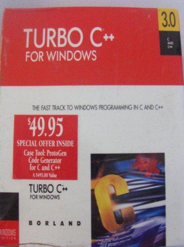 Borland Turbo C++ for Windows 3.0 - c1991