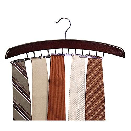 Closet Accessories 24 Tie Hardwood Hanger (Pack of 3) Richards Homewares AX-AY-ABHI-47831