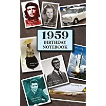 1959 Birthday Notebook: a great alternative to a card