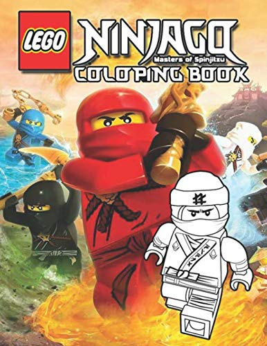 Lego Ninjago Coloring Book: Coloring Book With Unofficial High Quality Images For Kids and Adults