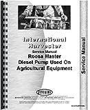 International Harvester Diesel Pump 460 560 606 660 Roosa Master Service Manual (IH-S-PUMPD236+)