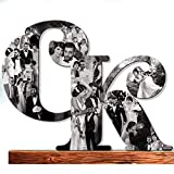 Wood Wall Collage, Decorative wood Wall, Wooden Monograms, Custom Photo Collage, Wooden Letter Photo, Personalized Photo Gift, Custom Collage, Wedding Gift, Wife Gift, Family Gift, Girlfriend gift