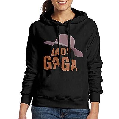 MARC Women's Joanne Lady Gaga Hoodie Black Size M