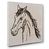 Horse Sketch CANVAS Wall Art Home Décor