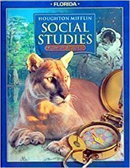 Houghton Mifflin Social Studies Student Edition Level 4studies