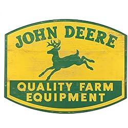 Open Road Brands John Deere Wood Wall Art