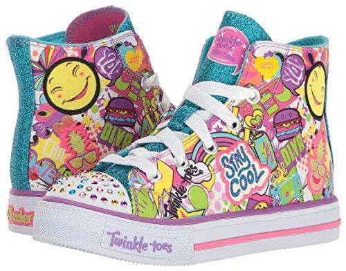 Kids Sneaker Kids' Trendy Talk Shuffles Skechers 8Rw0q7dw