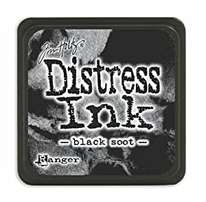 Ranger Tim Holtz Distress Ink Pads, Mini, Black Soot