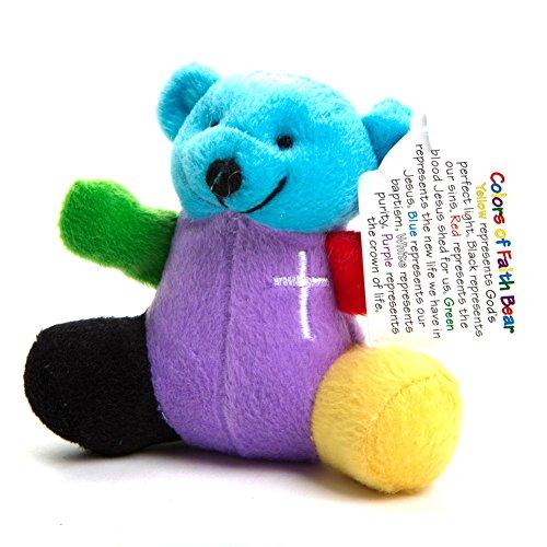 (Fun Express Rainbow Faith Plush Bear)