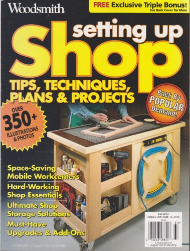 Top 1 recommendation setting up shop woodsmith