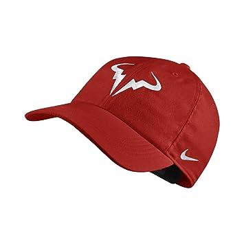 Nike AeroBill H86 Rafael Nadal Gorra, Unisex Adulto, Habanero Red/(White), Talla única: Amazon.es: Deportes y aire libre