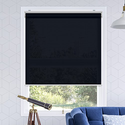 Chicology Snap-N'-Glide Cordless Roller Shades Smooth Privacy Window Blind, 36