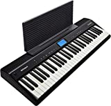 Roland GO:PIANO Education Bundle Digital Keyboard with Integrated Bluetooth Speakers and Faber Piano...