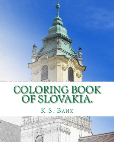 Coloring Book of Slovakia.
