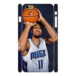Deluxe Elegant Basketball Athlete Pattern Skin for Iphone 6 Plus Case - 5.5 Inch