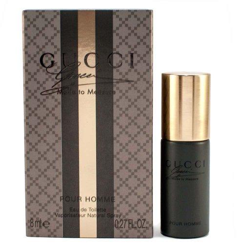 Gucci Made to Measure Pour Homme Eau De Toilette Stray Men's Cologne Travel Size 8 Ml 0.27 Oz