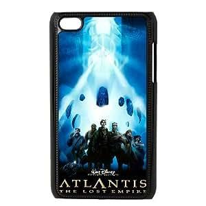 ipod 4 Black phone case Classic Style Disney Cartoon Atlantis The Lost Empire WHD8979964