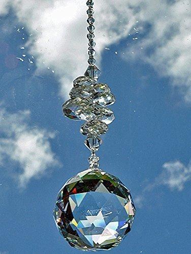 Hanging Crystal Suncatcher ornament decoration product image
