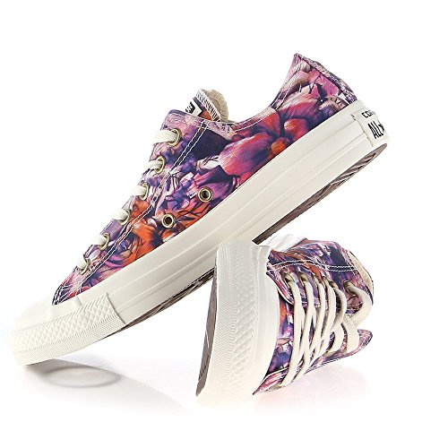 Converse Women's Chuck Taylor All Star Floral Print Ox Fashion Sneaker Floral 7 M US
